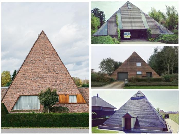 Если поездка в Египет в очередной раз сорвалась («Ugly Belgian Houses»). | Фото: pinterest.com.
