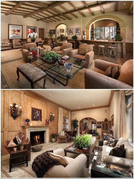 На территории усадьбы «Warner Estate» создано два гостевых домика (Лос-Анджелес, США). | Фото: luxatic.com.