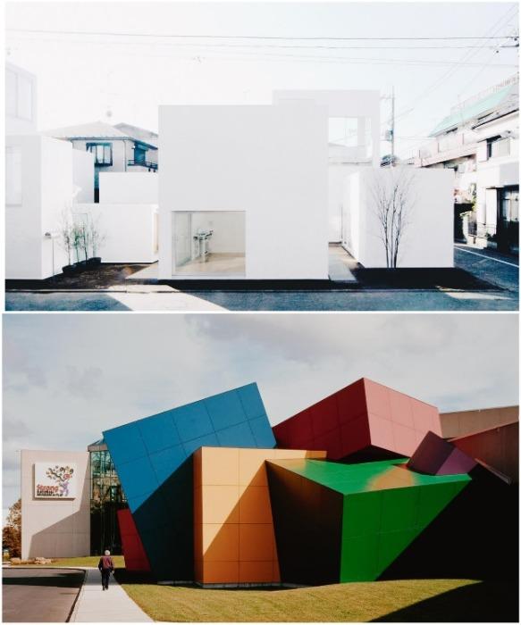 Видение современной архитектуры в Японии и США. | Фото: mahno.com.ua.