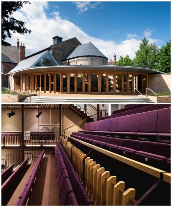 Церковь святого Люка в Бедфорде превратилась в театр Quarry (Великобритания). | Фото: varlamov.ru.