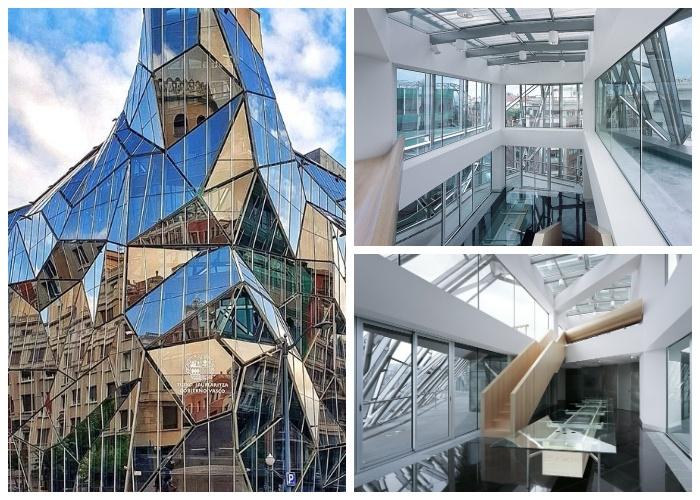Здание Департамента здравоохранения создано в соответствии со всеми правилами и нормами, выдвинутыми мэрией Бильбао.