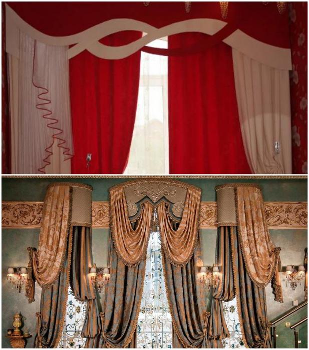 Такие композиции подойдут лишь для торжественных залов или вместо декораций в театре. | Фото: severdv.ru/ lemurov.net.