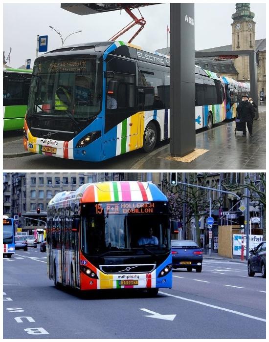 Общественный транспорт Люксембурга, проезд в котором в скором будущем станет бесплатным.