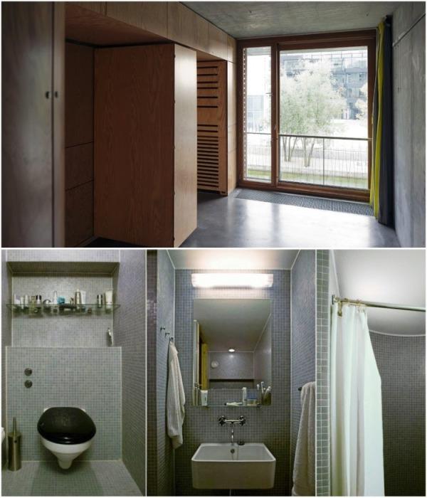 Стандартный интерьер комнаты для одного студента (Tietgenkollegiet, Копенгаген). | Фото: iremlandscape.wordpress.com.