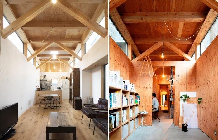Чтобы обеспечить приватность, окна расположили под самым потолком. | Фото: afasiaarchzine.com.