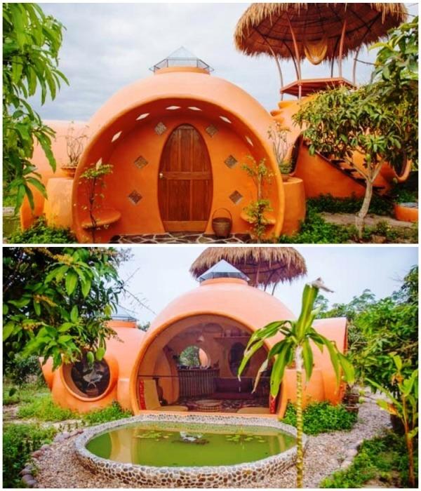 Сказочный дом в манговой роще Стив Арин сделал собственными руками (Таиланд). | Фото: laburo.com.ua.