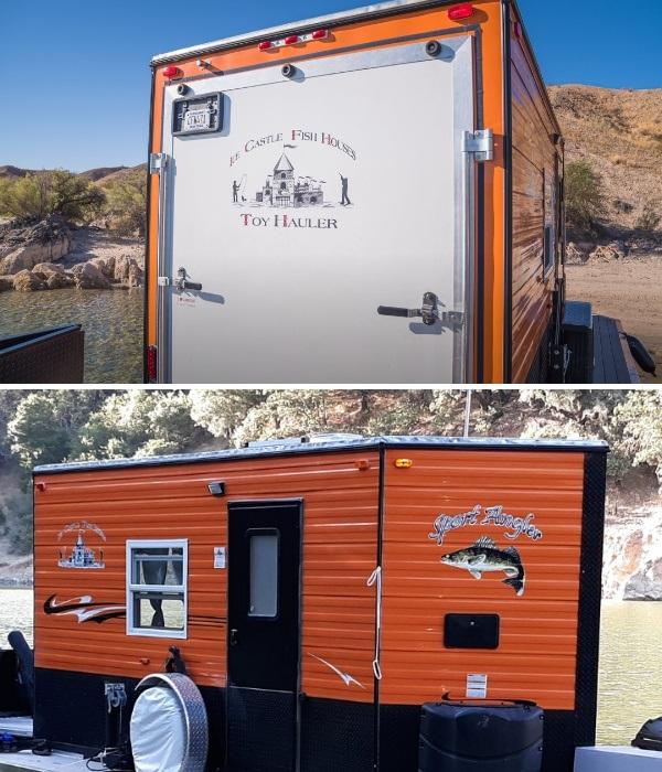Кемпер для рыболовов «Ice Castle Fish House» служит и домом на колесах и каютой. | Фото: flickr.com/ © Scott Cronk.