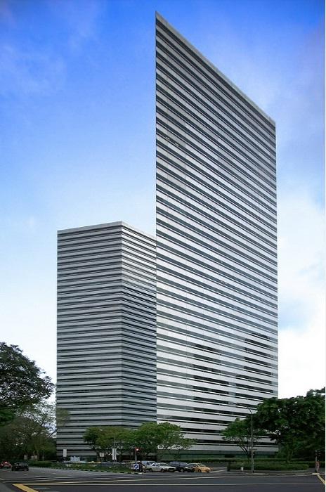 Необычный комплекс Gateway в Сингапуре.