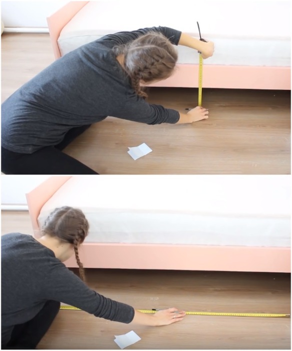 Чтобы не ошибиться в расчетах, нужно тщательно все измерить и рассчитать.   Фото: youtube.com/ Bubenitta.