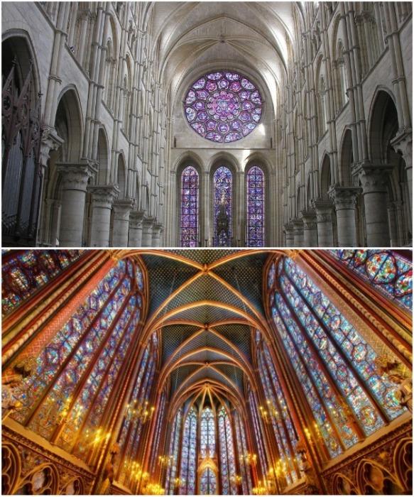 Сводчатые потолки готических соборов всегда поражали своим величием и красотой. | Фото: ukrsmeta.ua.
