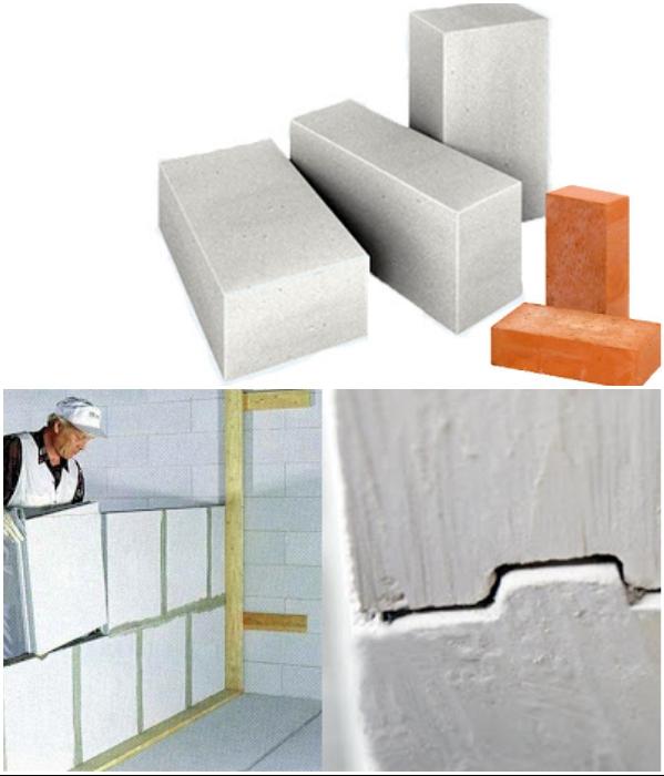 Для создания монолитной мебели подходят все материалы, которые используются для строительства домов.   Фото: vamnapolzu.ru/ beton-house.com.