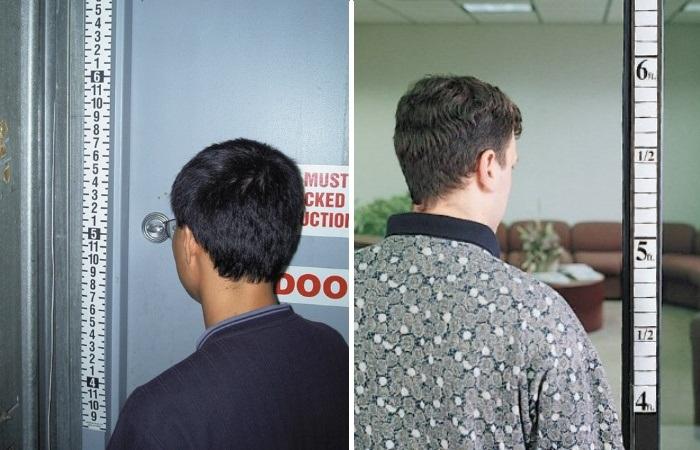 С помощи линейки ростомера на входной двери и видеокамеры можно зафиксировать рост любого входящего и выходящего человека. | Фото: ellipsesecurity.com.