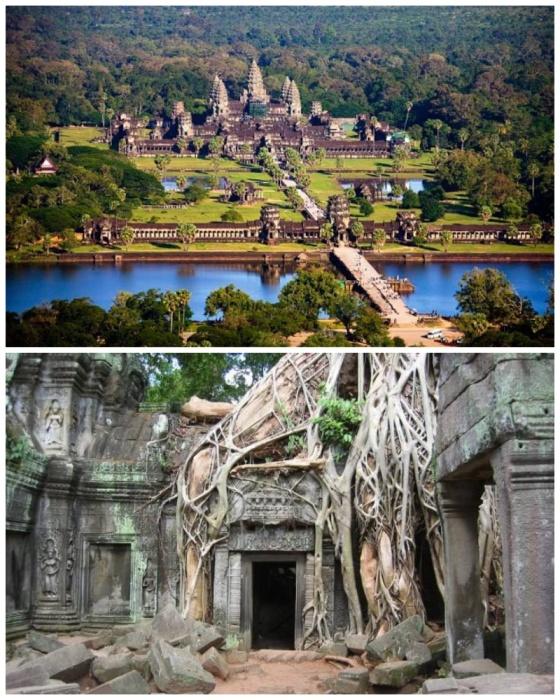 Ангкор-Ват — самый большой храм в мире (Камбоджа). | Фото: etotam.com.