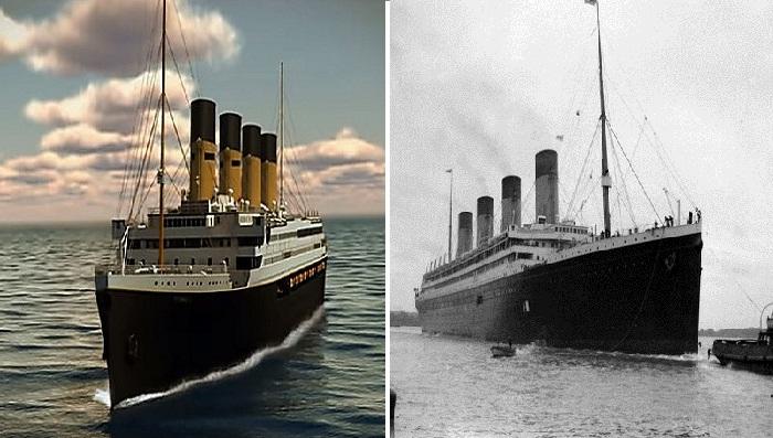 В Китае создают точную копию  «Титаника».