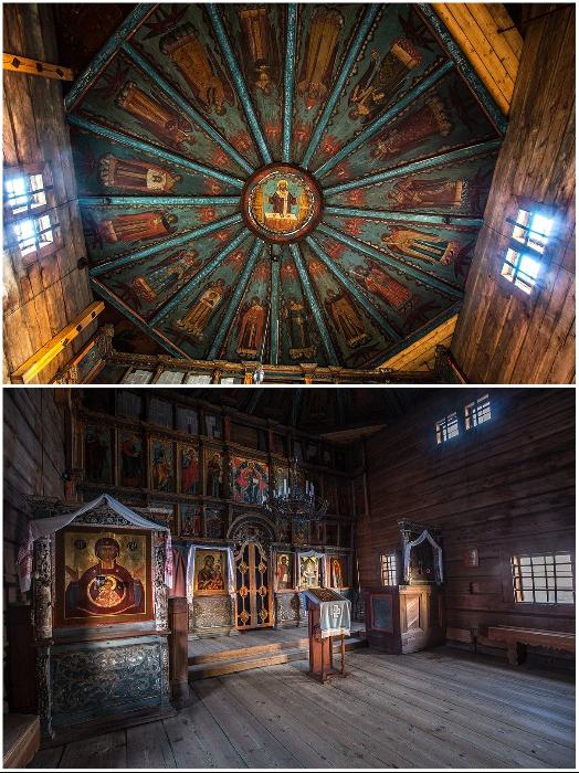 Старинные образцы церковной живописи утрачены навсегда (Успенская церковь, Кондопог). | Фото: ru.wikipedia.org/ © Timin Ilya.