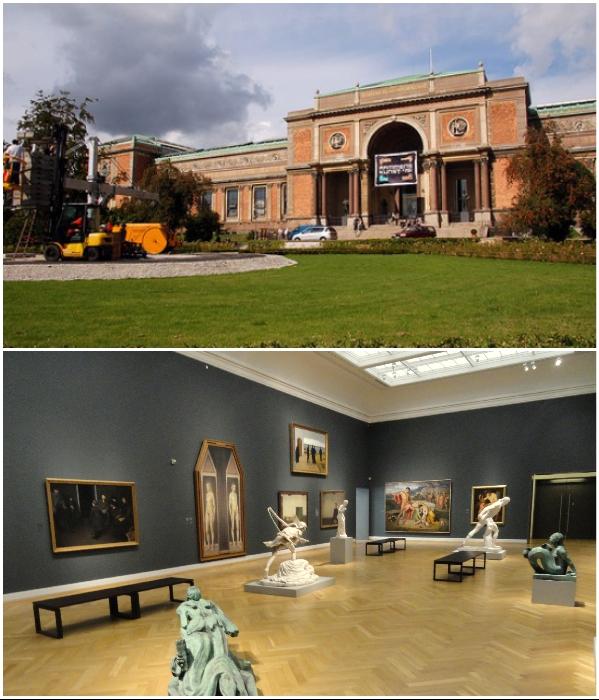 Теперь можно отправляться в виртуальный тур и по выставочным залам Государственного музея искусств в Копенгагене (Дания). | Фото: tournavigator.pro/ stroget.ru.