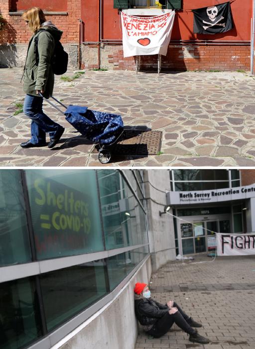 Трудовые мигранты тоже стали промышлять сквоттингом. | Фото: lenta.ru.