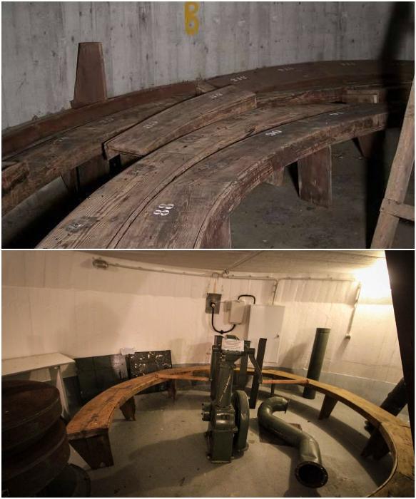 Такого плана лавки были расположены в бомбоубежищах «Winkelturme» (Германия). | Фото: popmech.ru/ ursa-tm.ru.