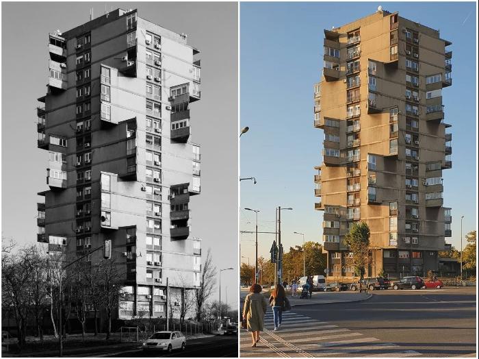 «Башня Карабурма» – сохранившаяся достопримечательность социалистической Югославии (Белград, Сербия).