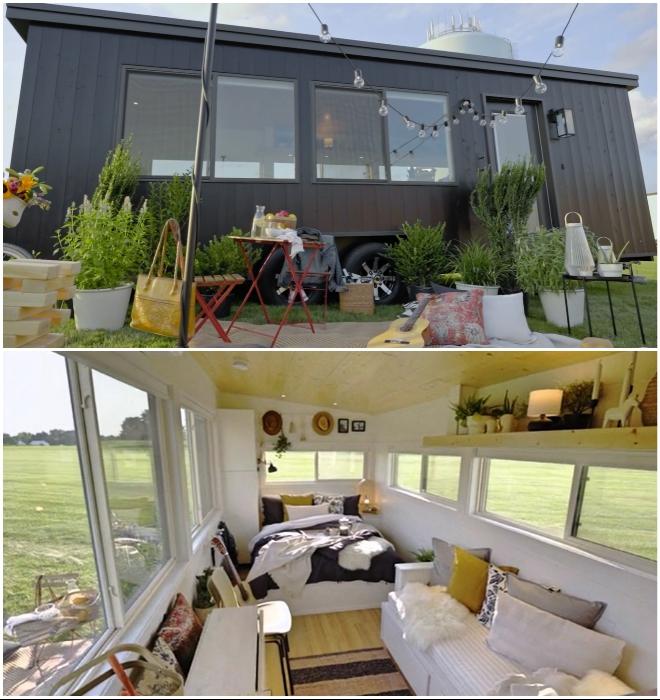 IKEA совместно с Vox Creative разработали крошечный дом на колесах (Ikea Tiny Home).