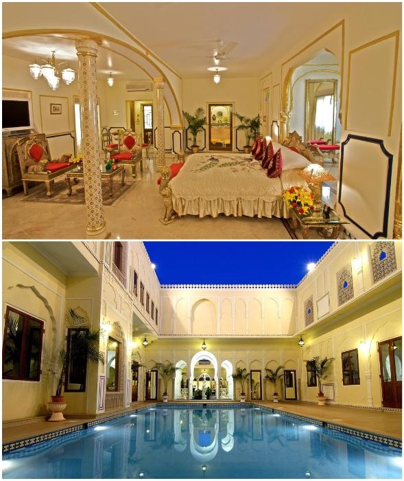 Чтобы провести лишь одну ночь во дворце Maharajah Pavilion, придется выложить 75 тыс. дол. (5,47 млн руб.).