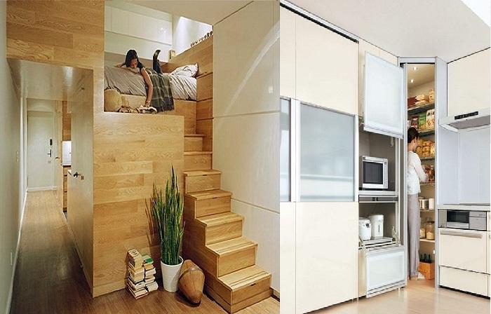 Как увеличить площадь хранения в малогабаритной квартире.