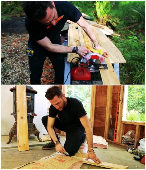 Дом своей мечты Джейкоб Витцлинг Хэмби построил самостоятельно.   Фото: youtube.com/ © Living Big In A Tiny House.