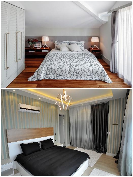 Чем выше уровень жилья, тем больше будет спальня и ванная комната. | Фото: turkeyforfriends.com/ interiorizm.com.