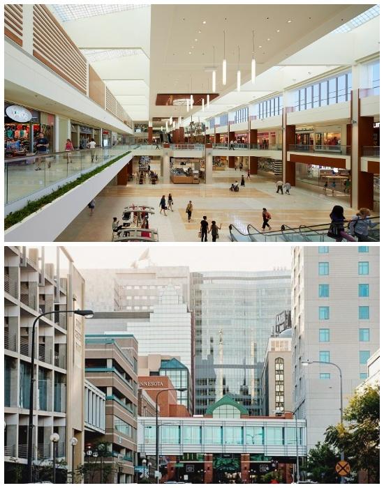 Система надземных переходов Minneapolis Skyway System соединяет 80 городских кварталов (США). | Фото: knowhow.pp.ua.