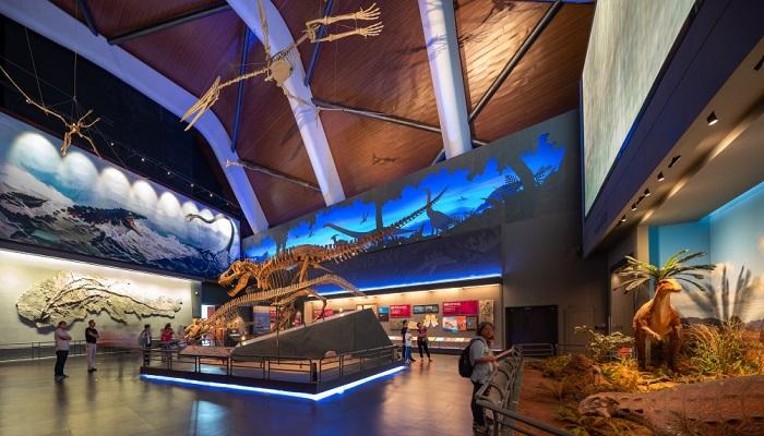 В 15-ти экспозиционных залах основного здания можно ознакомиться с морской тематикой с различных точек зрения (The National Maritime Museum of China, Тяньцзинь). | Фото: newatlas.com.