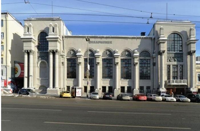 Здание Свердловской государственной филармонии будет интегрировано в новый проект.