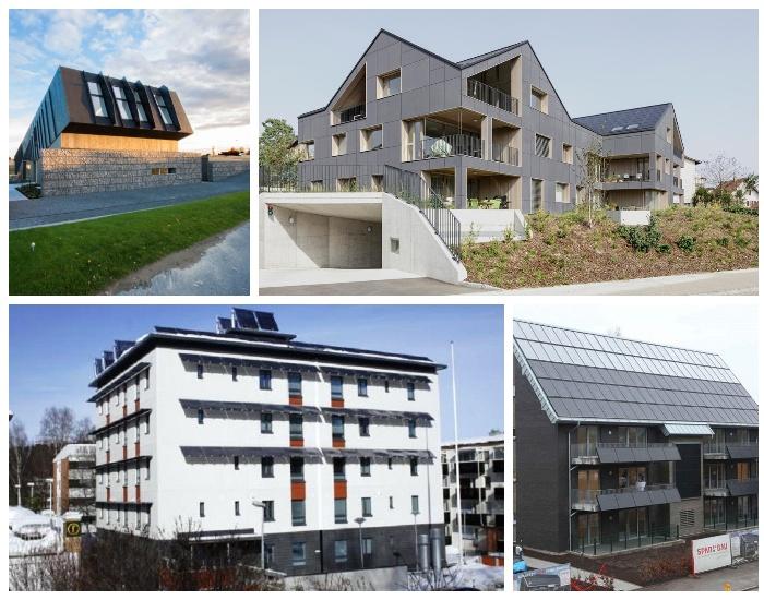 Во всем мире становится популярным строительство энергоэффективных жилых домов.