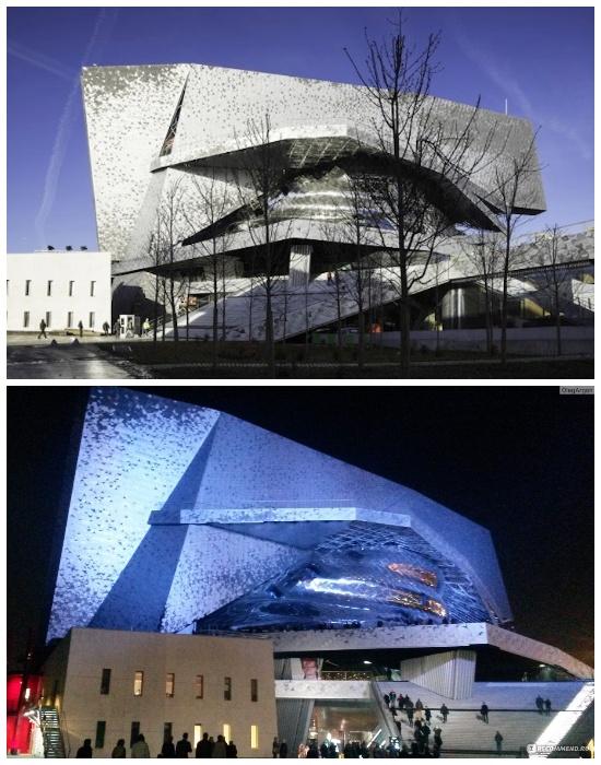 Архитектор Жан Нувель (Jean Nouvel) создал проект филармонии (Philharmonie de Paris). | Фото: paris-chance.ru.