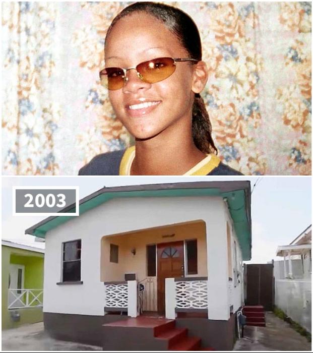 В этом доме Рианна вместе с родителями и двумя братьями жила до переезда в Лос-Анджелес.