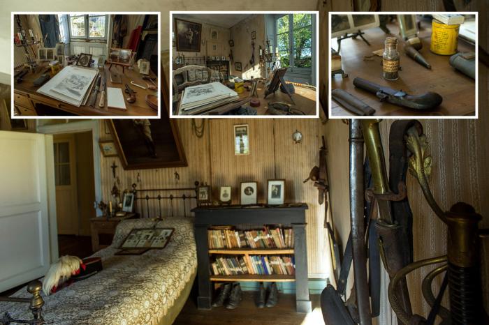 Власти коммуны Белабр хотели бы превратить эту комнату в музей (Франция). | Фото: notiulti.com.