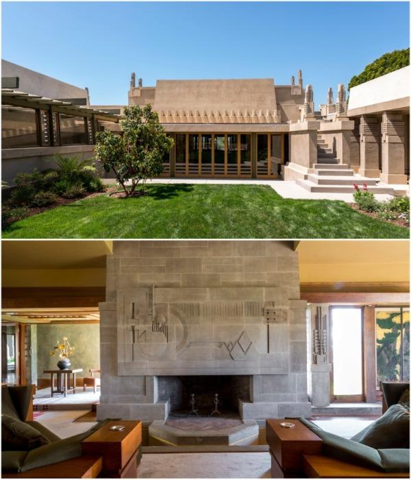 «Дом Мальвы» является не только визитной карточкой Лос-Анджелеса, но и предвестником современного архитектурного стиля. | Фото: designerdreamhomes.ru.