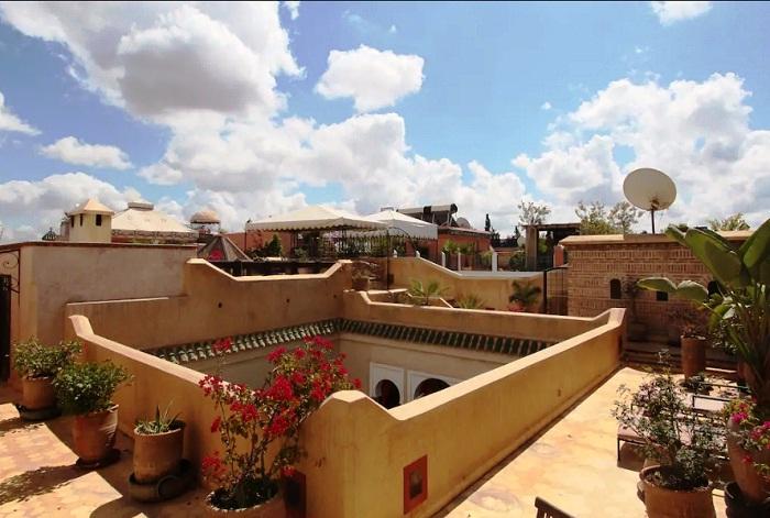 Дворец в Марракеше (Марокко).