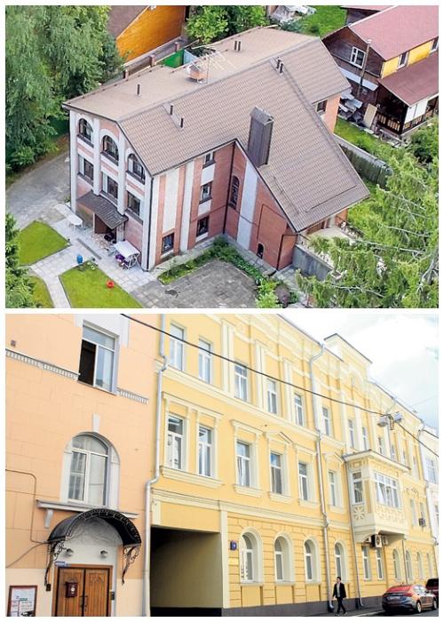 Дом в Подмосковье и квартира в Сеченовском переулке г. Москвы (Недвижимость Петросяна и Степаненко).