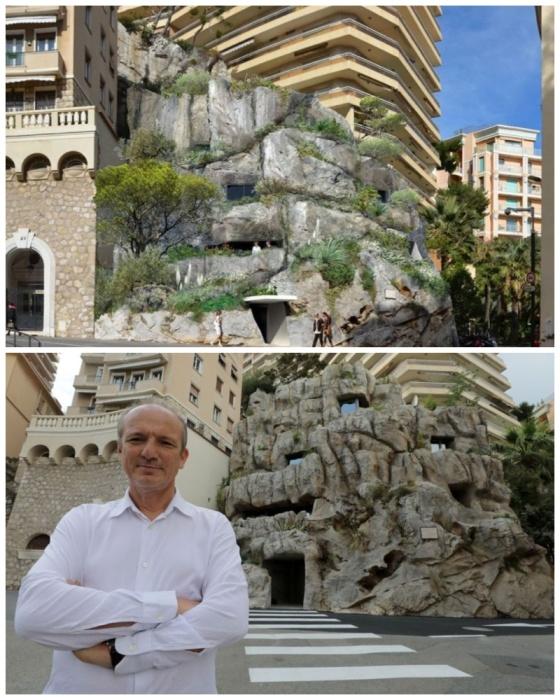 «Villa Troglodyte» признана уникальным авторским домом и произведением искусства (Монако). | Фото: businesstimes.com.sg.