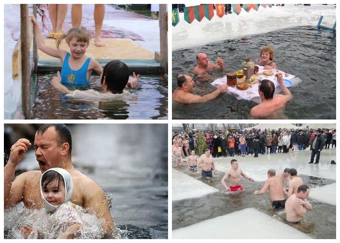 Крещенские купания  - христианская традиция.