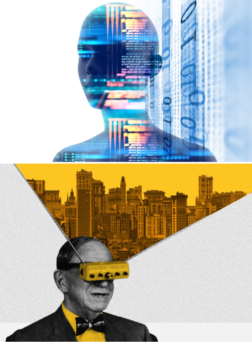 Искусственный интеллект уже может создавать собственные проекты без участия человека. | Фото: budport.com.ua/ medium.com.