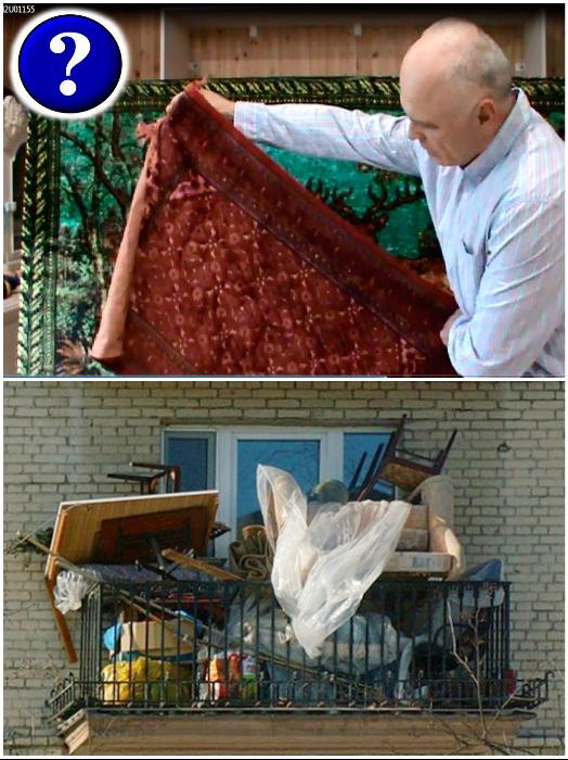 Не стоит хранить старые вещи, если уже купили новые. | Фото: laminatepol.ru/ metallicheckiy-portal.ru.