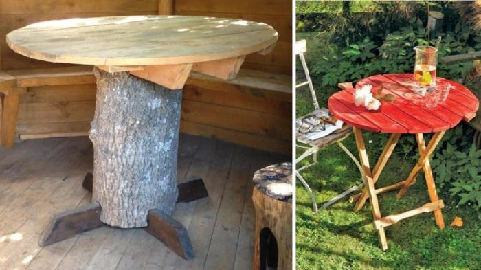После таких примеров сразу становится понятно, почему за изготовление круглого стола не должен браться дилетант.