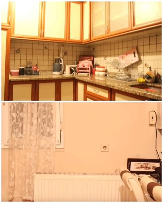 Кухня до преобразования.