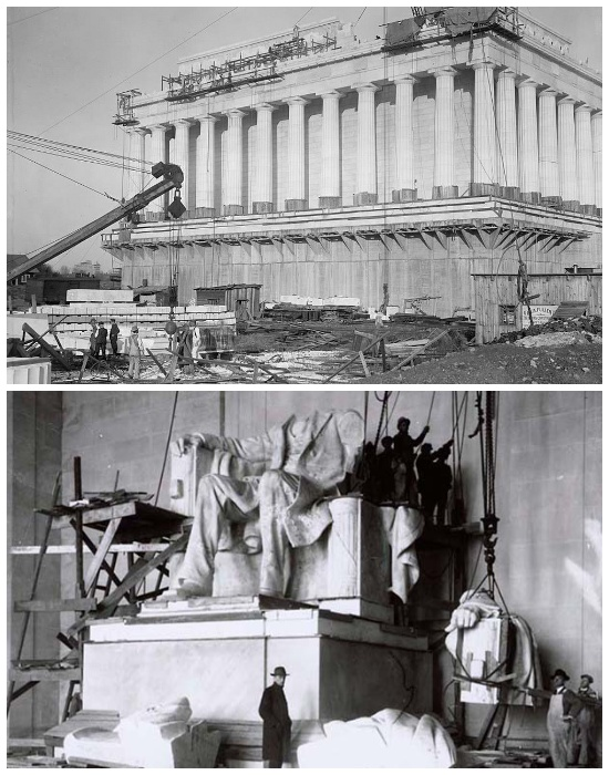 Мемориал Линкольна был создан по проекту скульптуров Даниэля Честера Френча и Гэнри Бэкона (Вашингтон, США). | Фото: planetofhotels.com.