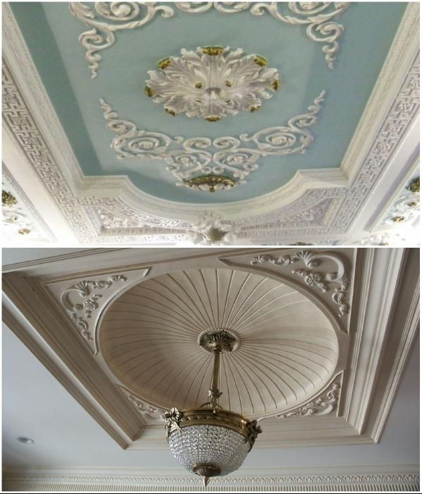 Такая лепнина и купола неуместны в маленьких квартирах, да и вообще в жилом помещении.   Фото: oooarsenal.ru/ design-homes.ru.
