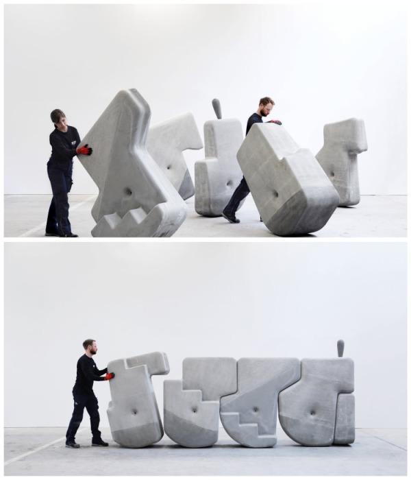 Если сбалансировать центр тяжести, то камень можно будет перекатывать без особых проблем. | Фото: matterdesignstudio.com.