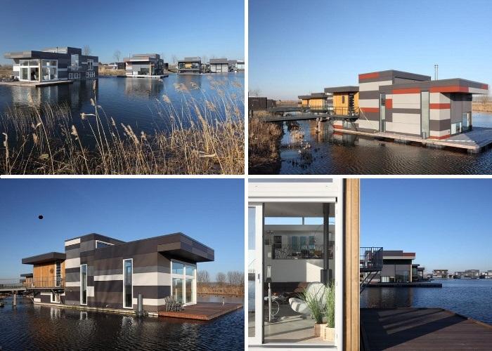 Проектом, получившего название «Drijf in Lelystad», занималась архитектурная фирма Attika Architects (Lelystad, Нидерланды). | Фото: sillybilly.livejournal.com.