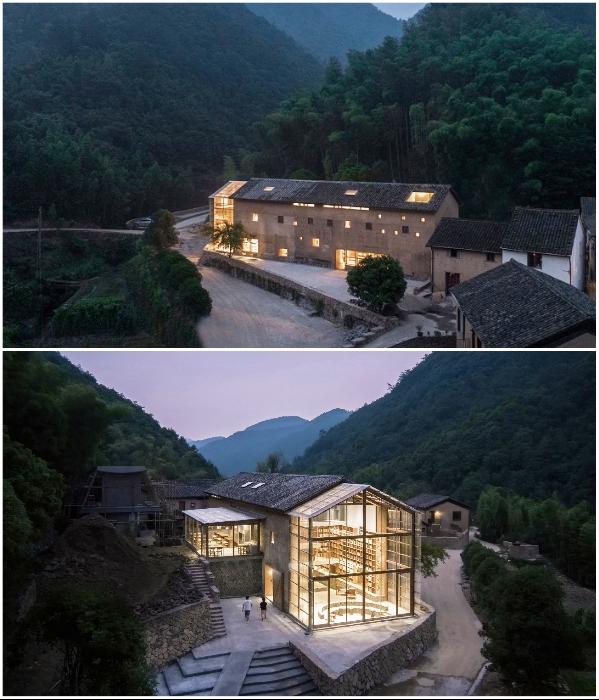 В китайской провинции Чжэцзян открылся капсульный отель («Liuyue Capsule Hotel»). | Фото: dezeen.com.