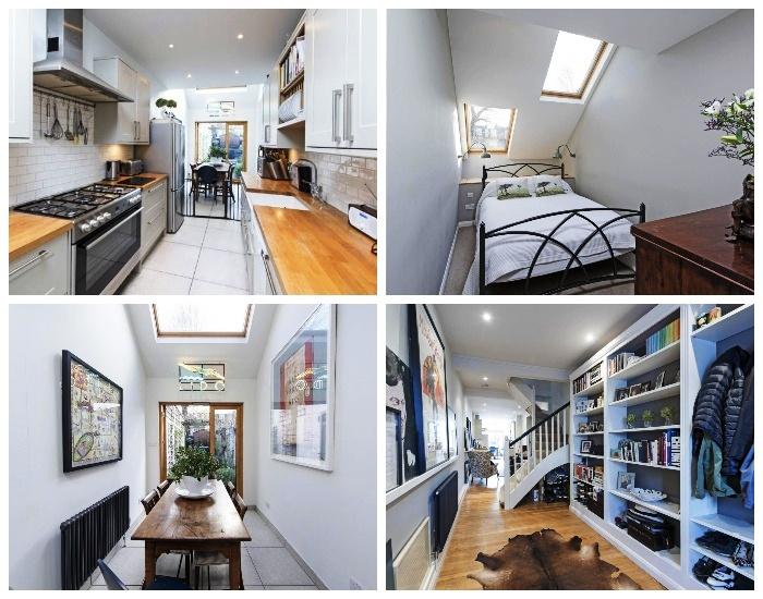 В Slim House удалось создать несколько спален, гостиных и ванных комнат. | Фото: elmira-abdulman.livejournal.com.